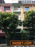 ขายอาคารพาณิชย์ 4 ชั้น ถนนช่องนนทรี ใกล้เซ็นทรัลพระราม3