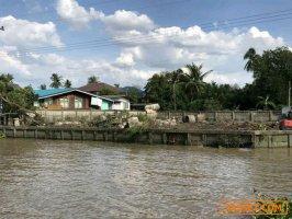 L138 ขายที่ดินสวยมาก ติดแม่น้ำเจ้าพระยา ปากเกร็ด เหมาะสร้างบ้านพัก โฮสเทล โทร: 0882916988