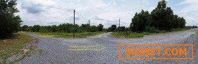 ขายที่ดิน หนองแค (หนองโรง)  สระบุรี 2 ไร่  ติดถนน ลาดยางสาธารณะสามารถลัดไป หนองเสือคลอง 10 ได้