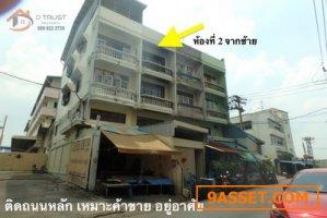 ให้เช่าตึกแถว เหมาะ ค้าขาย อยู่อาศัย ติดถนนหลัก บางขุนเทียน 14 อาคารพาณิชย์ ใกล้เซ็นทรัลพระราม 2 เนื้อที่ 20ตร.ว.
