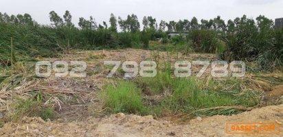 ขาย   ที่ดิน ติดมอเตอร์เวย์ กรุงเทพ  -  ชลบุรี 18 ไร่