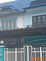 B61-0595 ขายทาวน์เฮ้าส์ บ้านมนวดี พาร์ค Baan Monwadee Park สภาพแวดล้อมน่าอยู่