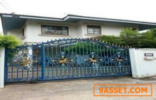 บ้านเดี่ยว 2 ชั้น สภาพดี  64ตรว  ถ.ประชาราษฎร์16ทับ1 ตลาดขวัญ เมืองนนทบุรี