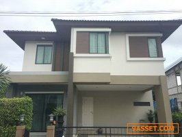 (เช่า) FOR RENT HABITIA RATCHAPRUK / 3 beds 3 baths / 63 Sqw.**36,000**  NEAR DONMUANG AIRPORT