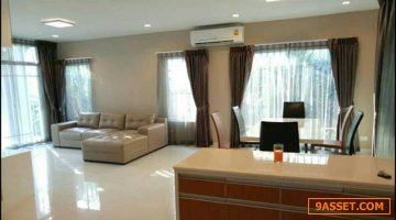 For Rent Single house The Plant Prestige Chaeng Wattana พร้อมเฟอรื