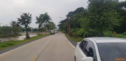 ขายที่ดินติดถนนเรียบคลองระพีพัฒน์(คลอง6)