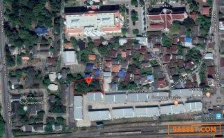 ขาย ที่ดินเปล่า 290 ตรว กลางเมืองโคราช ใกล้สถานีรถไฟชุมทางถนนจิระ 450 เมตร