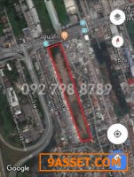 ขาย ที่ดิน รามคำแหง 138 ติดถนนใหญ่รามคำแหง ใกล้สถานีน้อมเกล้า