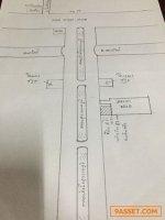 L25 ขายที่ดิน ริมถนนคลองส่งน้ำสุวรรณภูมิ กม19 5 ไร่ ใกล้ TIP สำนักงานใหญ่ Kerry WHA โรงพยาบาลรามา