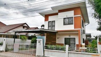 บ้านสวยโครงการ โซนหางดง ใกล้โรงเรียนนานาชาติ SBS โซนหางดง