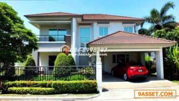 ขายถูก บ้านเดี่ยว The Grand Rama 2 ขนาด 125 ตร.ว. 5นอน 4น้ำ หลังมุม บ้านสวยราคาทุน 12.5 mb.ด่วน
