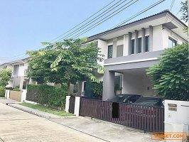 31111 ขาย บ้านเดี่ยว 2 ชั้น หมู่บ้าน ฮาบิเทีย วัชรพล