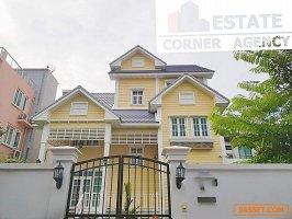 31065 ขาย บ้านหรู  สไตล์ยุโรป ซอย หมู่บ้านซีเมนต์ไทย  ทำเล รัชดา  ประชาชื่น  บ้านสร้างใหม่ พร้อมอยู่