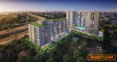 CM02907 ขายดาวน์ ศุภาลัย ซิตี้ รีสอร์ท พระราม 8 Supalai City Resort Rama 8 คอนโดมิเนียม ถนนอรุณอัมรินทร์