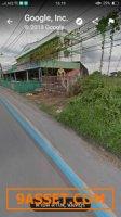 ขายที่ดิน ติดถนนใหญ่เส้น345. คลองลำโพ พื้นที่5ไร่หน้ากว้างติดถนน40เมตร