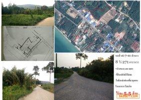 ขายที่ดิน 8 ไร่ 271 ตารางวา ทะเลท่าใหม่ จันทบุรี