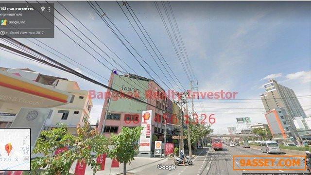 ขายด่วน อาคารพาณิชย์ 4 ชั้น งามวงศ์วาน ซอย32 43ตรว ติดถนนใหญ่ 17ล้าน