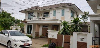 บ้านเดี่ยว โฮมเพลส เดอะพาร์ค ถ.บางกรวย-ไทรน้อย บางใหญ่ ราคา 5.2 ล.