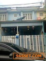 ขายบ้าน หมู่บ้านนนทิวาอยู่ตรงข้ามตลาดดวงแก้วและโรงเรียนพระหฤทัยนนทบุรี ใกล้เมืองทองธานี