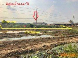 ขายถูกมาก ที่ดินเปล่า 30-2-67 ไร่ ทำเลดี ต.ตานิม อ.บางปะหัน อยุธยา ติดถนน 8 เลน ถนนเอเชีย