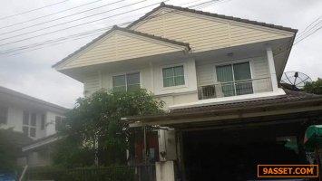 63345  ขาย บ้านเดี่ยว 2 ชั้น ม.ชัยพฤกษ์ เฟส 3 เนื้อที่ 60 ตร.ว. บางใหญ่ นนทบุรี