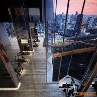 ขายดาวน์ คอนโด Life  Asoke-Rama 9 ชั้นสูง 40+ ตึก B วิวมักกะสัน