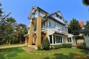ขายบ้านหรูราคาถูกสุดในโครงการ Q House Avenue พระราม 5  พร้อมอยู่ ขนาด 162 ตรว.หลังใหญ่