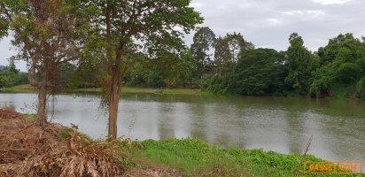 ขายที่ดิน ติดแม่น้ำแควน้อย ทำเลดี แปลงสวย 24 ไร่ อำเภอเมือง จ.กาญจนบุรี