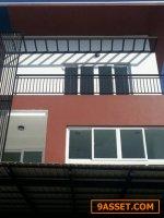 S0313 ขายบ้านแฝด 3 ชั้น ซอยสตรีวิทยา 2 บ้านใหม่ ย่านโชคชัย 4