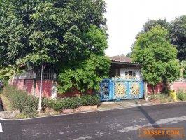 ขายด่วน บ้านเดี่ยว ชั้นเดียว หมู่บ้านอุบลชาติ 1 ถนนรัตนาธิเบศร์ แยกไทรม้า