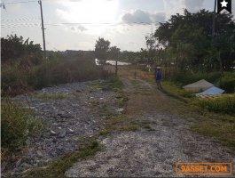 ขายที่ดิน9 ไร่เหมาะสร้าง โรงงาน โกดังเก็บสินค้าติดถนนเลียบคลองส่งน้ำสุวรรณภูมิ