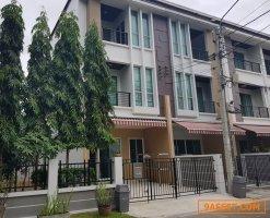 31043  ขายหรือ ให้เช่า ทาวน์โฮม 3 ชั้น บ้านกลางเมือง สาทร  ตากสิน 2 ใกล้ BTS วุฒากาศ