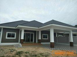 ขายถูก!!!โครงการใหม่ บ้านปัณณ์สุข บ้านเดี่ยว 1ชั้น 3ห้องนอน 3 ห้องน้ำ 106 ตร.ว