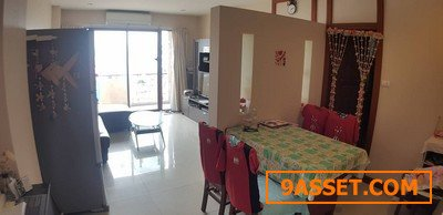 Special price!!! Klang Krung Resort Ratchada 7 condo for sale, 63.51 Sqm Fully Furnished