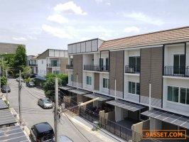 ให้เช่า ทาวน์โฮม 3 ชั้น โครงการ The Monent รามอินทรา45/1 ราคา 21000 บาท บ้านใหม่
