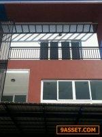 รหัสC1642  ขายบ้านแฝด 3 ชั้น ทำเลย่านลาดพร้าว ซอยสตรีวิทยา2 บ้านใหม่ไม่เคยเข้าอยู่