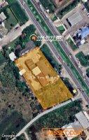 ขายที่ดิน ติดถนนสาย บางบัวทอง-สุพรรณบุรี ทล.340 ฝั่งขาออก หน้ากว้างติดถนน 142 เมตร