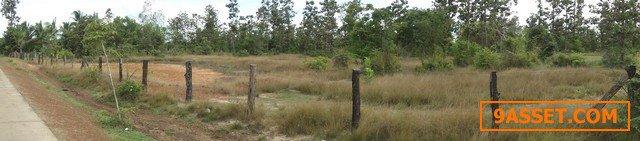 ขายที่ดิน ช่องแมก อุบล  ตรงข้ามอ่างเก็บน้ำสิรินธร ใกล้ชายแดนประเทศลาว เหมาะทำธุรกิจ