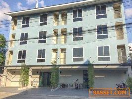 อพาร์ทเมนต์สร้างใหม่ เนื้อที่100วา เป็นอาคาร4ชั้น 35ห้องพัก