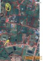 ที่ดิน 1ไร่2งานใกล้เมืองปราจีนเพียง10 กม.ติดทางสาธารณะ
