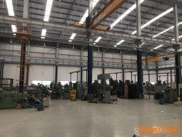ขายด่วน โรงงานกลึง ฉะเชิงเทรา บ้านโพธิ์ 13ไร่76ตรว หน้ากว้าง70เมตร พร้อมโกดัง40x40 พท สีม่วง มีใบ รง