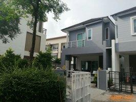 62683 ขาย บ้านเดี่ยวหมู่บ้าน  Proud Place วัชรพล  พื้นที่ 140 ตร.ม. หลังใหญ่ที่สุดในโครงการ