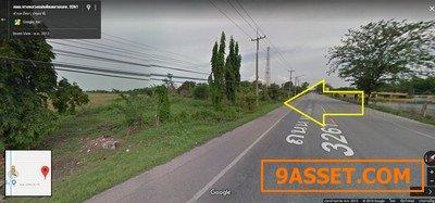 ขายที่ดินติดถนนลาดยาง หนองเสือ คลอง 10 ติดถนนลาดยางเรียบคลอง 15ไร่ พื้นที่สีเหลือง ทำเลดี
