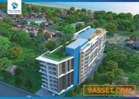 ขาย Sea Saran Condominium คอนโดสร้างใหม่ใกล้ชายทะเล 46.03 ตรม การันตีผลตอบแทน 10% ต่อปี พิเศษสุด!!