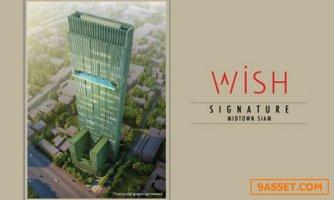 For Sale Wish Signature Midtown Siam / ขาย วิช ซิกเนเจอร์ มิดทาวน์ สยาม