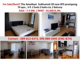 Sale - Rent The Amethyst Thonglor 39 condo style in Japan near BTS Prompong