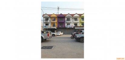 61496  ขาย   เช่า  อาคารพาณิชย์  3 ชั้น ซอย ชัยพฤกษ์ 2 ถนน สุขุมวิท ชลบุรี