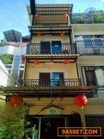 ขายกิจการ โฮสเทล The Oasis Hostel Chinatown  หัวลำโพง-เยาวราช พท.ใช้สอย 200 ตรม. 4 ชั้น