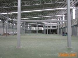 W63ขายโรงงานสร้างใหม่ เส้นบางนา กม.19 (คลองส่งน้ำสุวรรณภูมิ) กำลังปรับเป็นพื้นที่สีม่วง