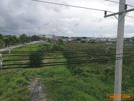 61970 ขาย ที่ดิน สามพราน ติดถนน เพชรเกษม 10 ไร่ 1 งาน 42 ตารางวา ทำเลดีมาก หน้ากว้างติดถนน 255 เมตร